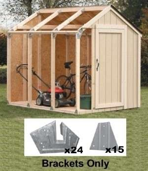 XBasics Shed Kits Creative Shelters - Picnic table bracket kit