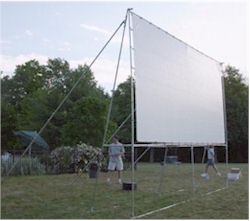 Kits And Parks For Outdoor Movie Theater Creative Shelters