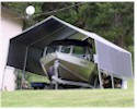 Most Popluar Boat and RV Canopy & Tarp Canopy Carports for Cars RVs and Boats | Creative Shelters