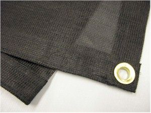 6x10 Black Sun Shade Screen Mesh