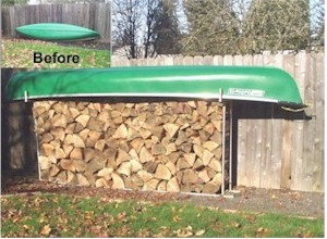 Firewood Racks Built To Your Specific Size With Creative Shelters Fittings.  You Can Be As Basic Or As Creative As You Wish In Designing Your Custom  Fire ...
