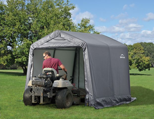 Sheds creative shelters for Garden shed for lawn mower