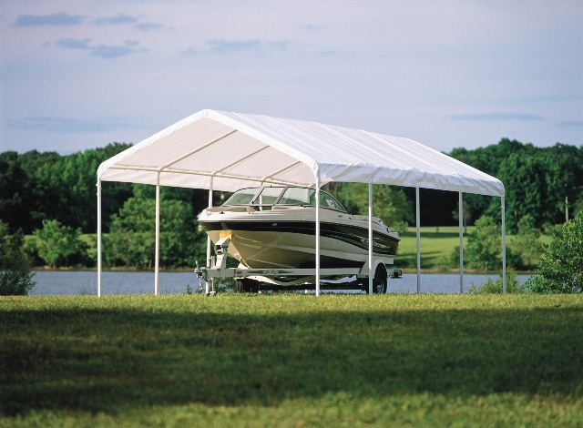 Replacement Covers Shelter Garage 120 240 : Canopies creative shelters