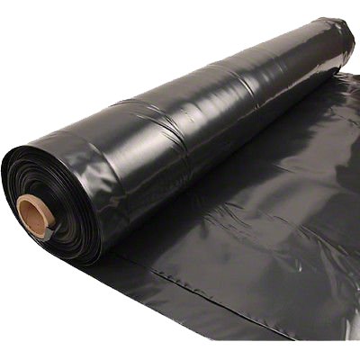 8 mil double black fr creative shelters for Fireproof vapor barrier