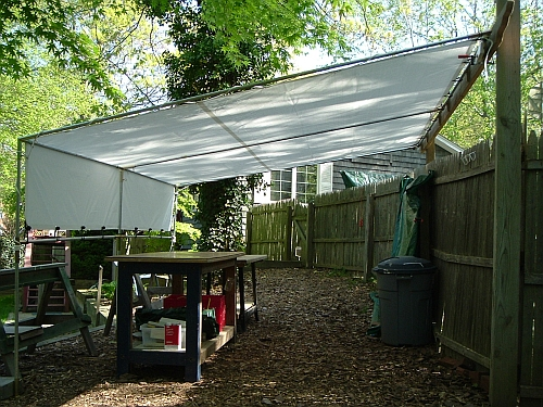Pvc Boat Shelter : Guide to get homemade wood truck bed cover working