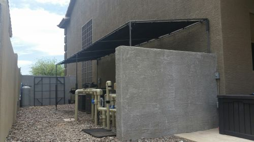 Az Shade 26 X 20 For My Pool Pumps And A C Units